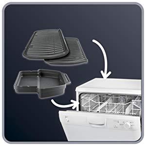 lavaggio griglia elettrica in lavastoviglie