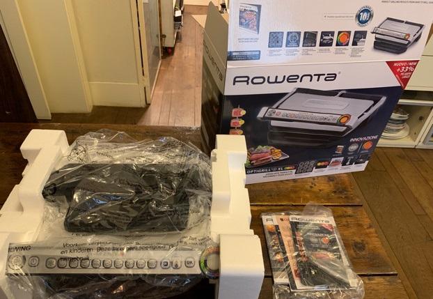 Consegna griglia elettrica Rowenta Optigrill+ XL