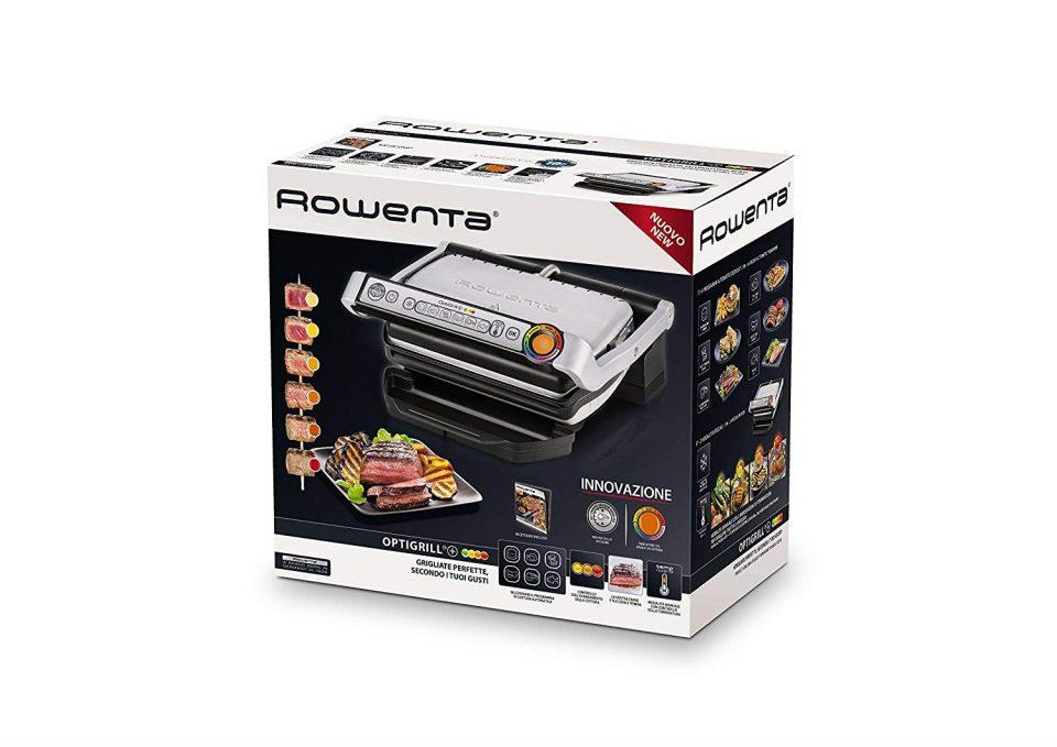 Pacco griglia elettrica Optigill+ Rowenta