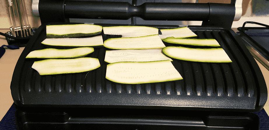 zucchine alla griglie elettrica