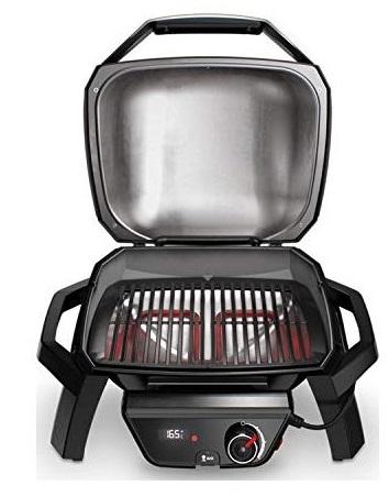 Barbecue elettrico WEBer PULSE 1000 aperto