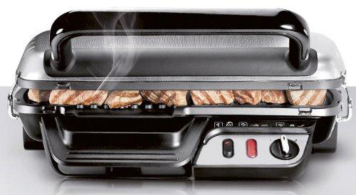 bistecchiera Rowenta GR3060 Comfort mentre cuoce alimenti
