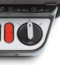 termostato è regolabile in tre posizioni